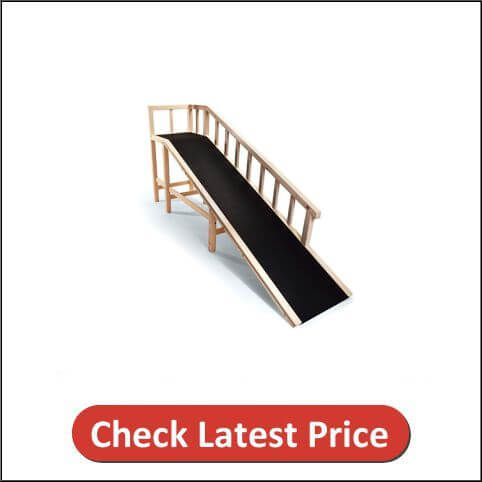 Gentle Rise Dog Bed Ramp
